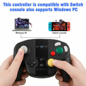 Wireless-Shock-Game-Controller-Pad-Dual-Analog-for-Nintendo-Switch-Gamecube-NGC