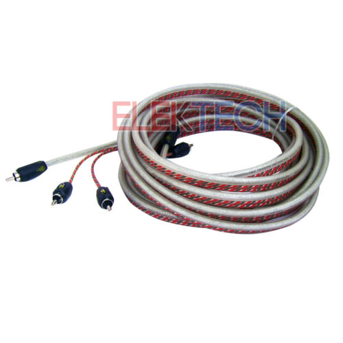 Stinger SI4917 Video//Audio RCA Interconnect Cable 4000 Series 2-Channel 17 ft