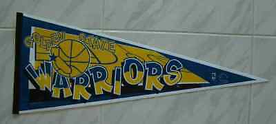 "Free S&h 12x29"" Felt High Safety Vintage Golden State Warriors Basketball Pennant Lot 25"