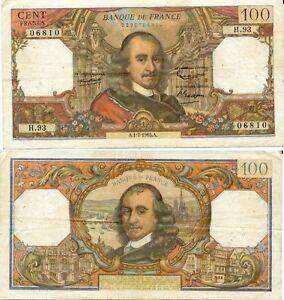 100 Francs Corneille Du 1-7-1965 H .93 Cyrus22b-08005708-672195299