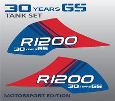 BMW R1200GS 30 Jahre aufkleber tank Becken stickers r1200 GS Motorsport Verbund