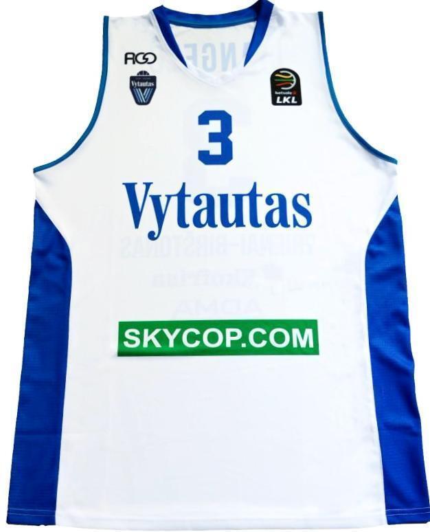 LiAngelo Ball BC Vytautas Official Jersey  100009-LIANGELO