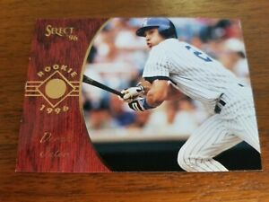 Details About Derek Jeter 1996 Pinnacle Select Card 161 New York Yankees Rookie