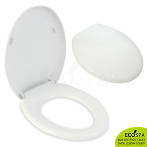 Marvelous Details About Easy Fit Oval White Soft Close Wc Toilet Seat Quick Release Top Fixing Hinges Onthecornerstone Fun Painted Chair Ideas Images Onthecornerstoneorg