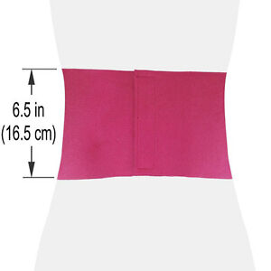 Pink Waist Trimmer Exercise Wrap Belt Slimming Burn Fat Sweat Body Shaper