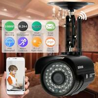 Hd 2.0mp 1080p Wireless Wifi Camera P2p Network Ip Outdoor Bullet Camera Us V6d5 on sale