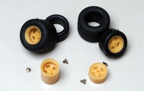 Roco corriente alterna juego de ruedas 11x 24mm pista h0