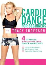 THE TRACY ANDERSON METHOD CARDIO DANCE WORKOUT FOR BEGINNERS DVD NEW SEALED