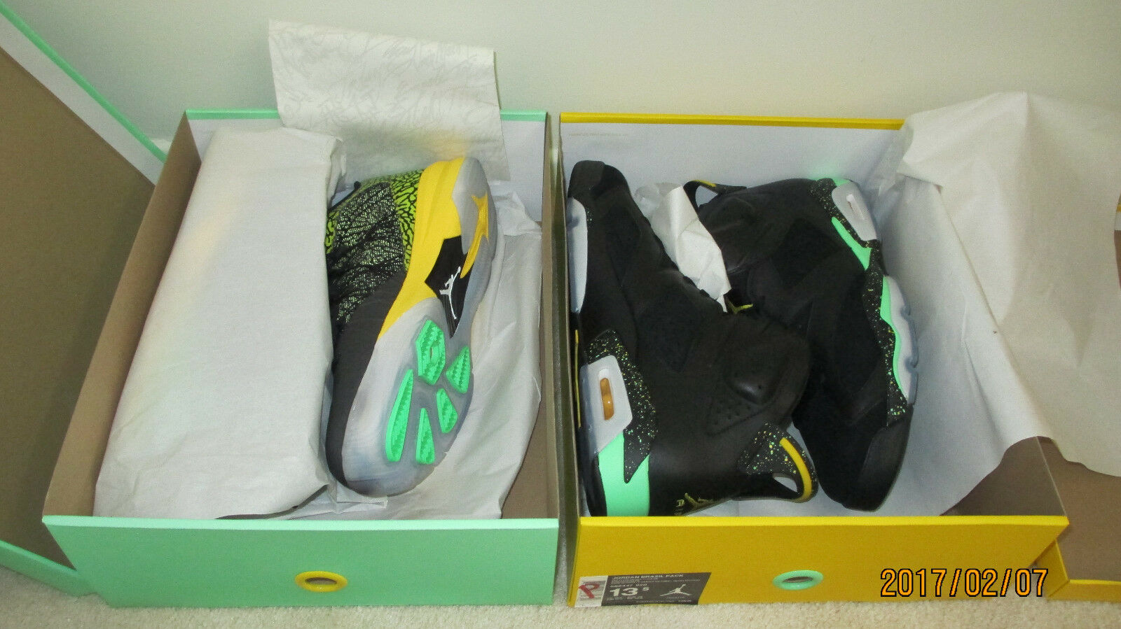 Nike Air Jordan 688447 920 Brazil Pack DS Price reduction Comfortable and good-looking