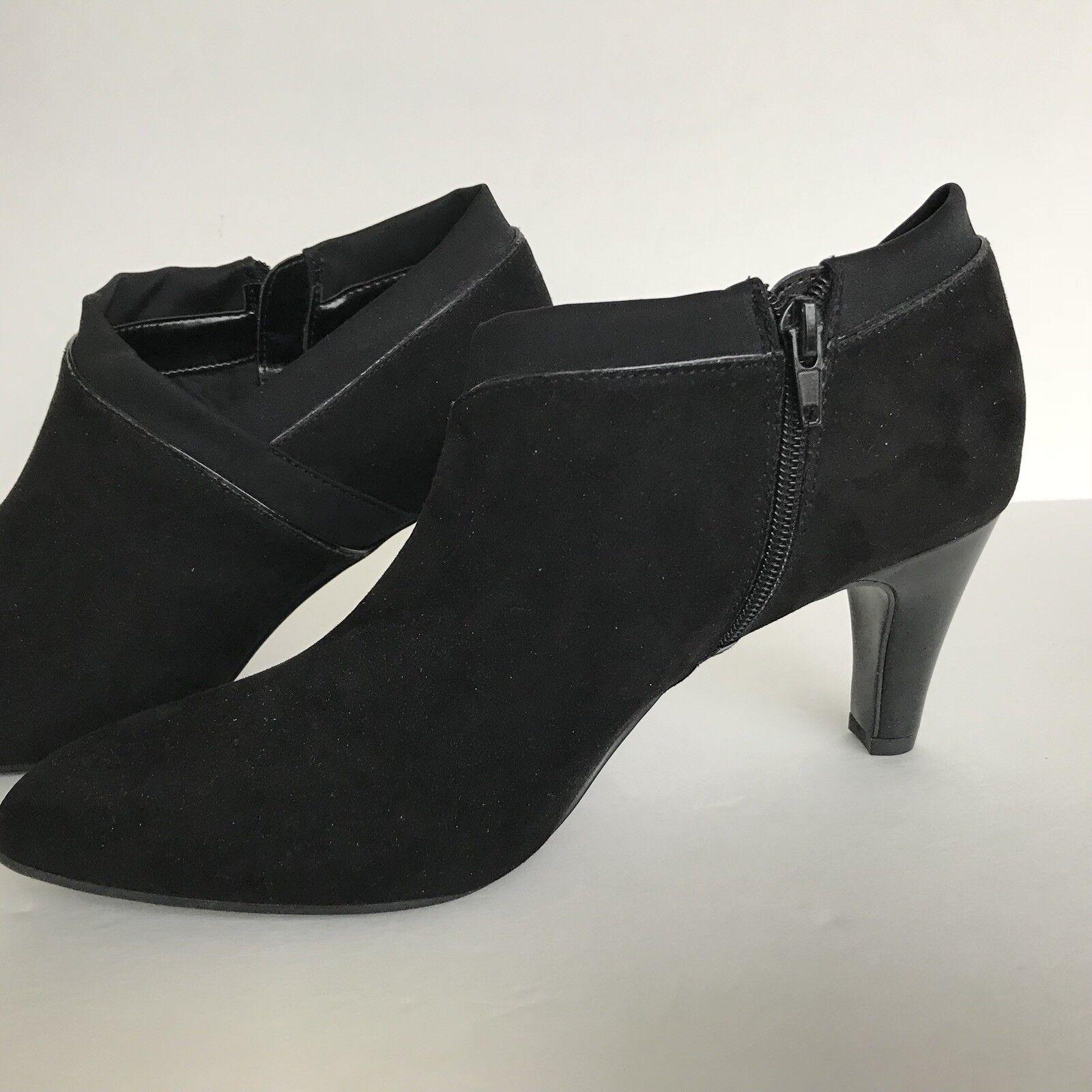 Black Bandolino Size 10 Ladies Wildone Bootie Career Cocktail 3