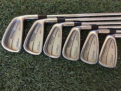 NICE Titleist Golf 804 OS Forged Iron Set 3 4 5 7 8 9 Right RH Steel STIFF Mens