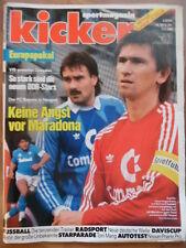 KICKER 28 - 3.4. 1989 Bayern-Neapel Augenthaler Gladbach-Bayern 2:1 HSV-Köln 0:1