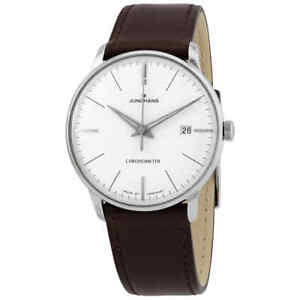 Junghans Meister Chronometer Automatic Silver Dial Men's Watch 027/4130.00
