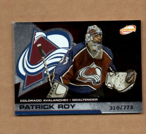2002 03 Atomic Hobby Parallel 26 Patrick Roy 310 775 Colorado Avalanche Ebay