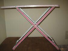 Child's Vintage Used Children Metal Folding Ironing Board Ironing Table Ohio Art