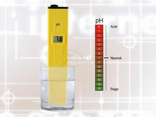 Digital Pocket PH Meter Tester Pen LCD Monitor  Aquarium Pool Water Laboratory