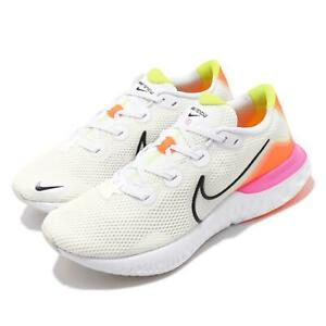 Nike Renew Run White Black Orange Pink