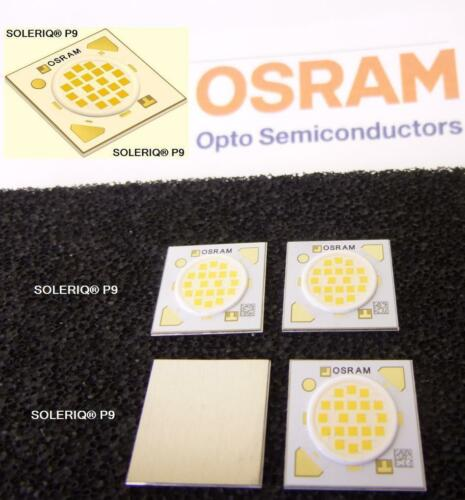 2 unidades//2 pieces OSRAM soleriq p 9 LED COB 3000k calido White cri 82 GW mafjb 1.em
