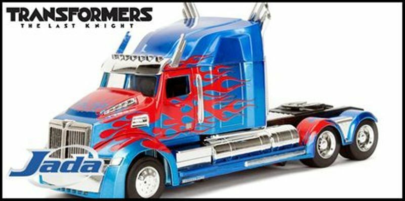 JADA TOYS Various 1 24th scale TRANSFORMERS 5 THE LAST KNIGHT diecast model cars