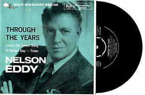 NELSON-EDDY-THROUGH-THE-YEARS-EP-7-034-45-RECORD-PIC-SLV