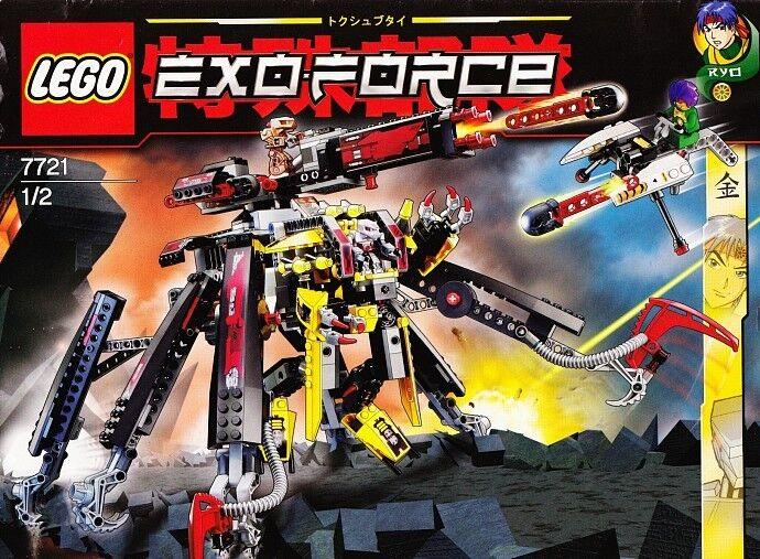 Nuovo Lego Exo-Force 7721 Combattimento Cingolato X2 Sigillato