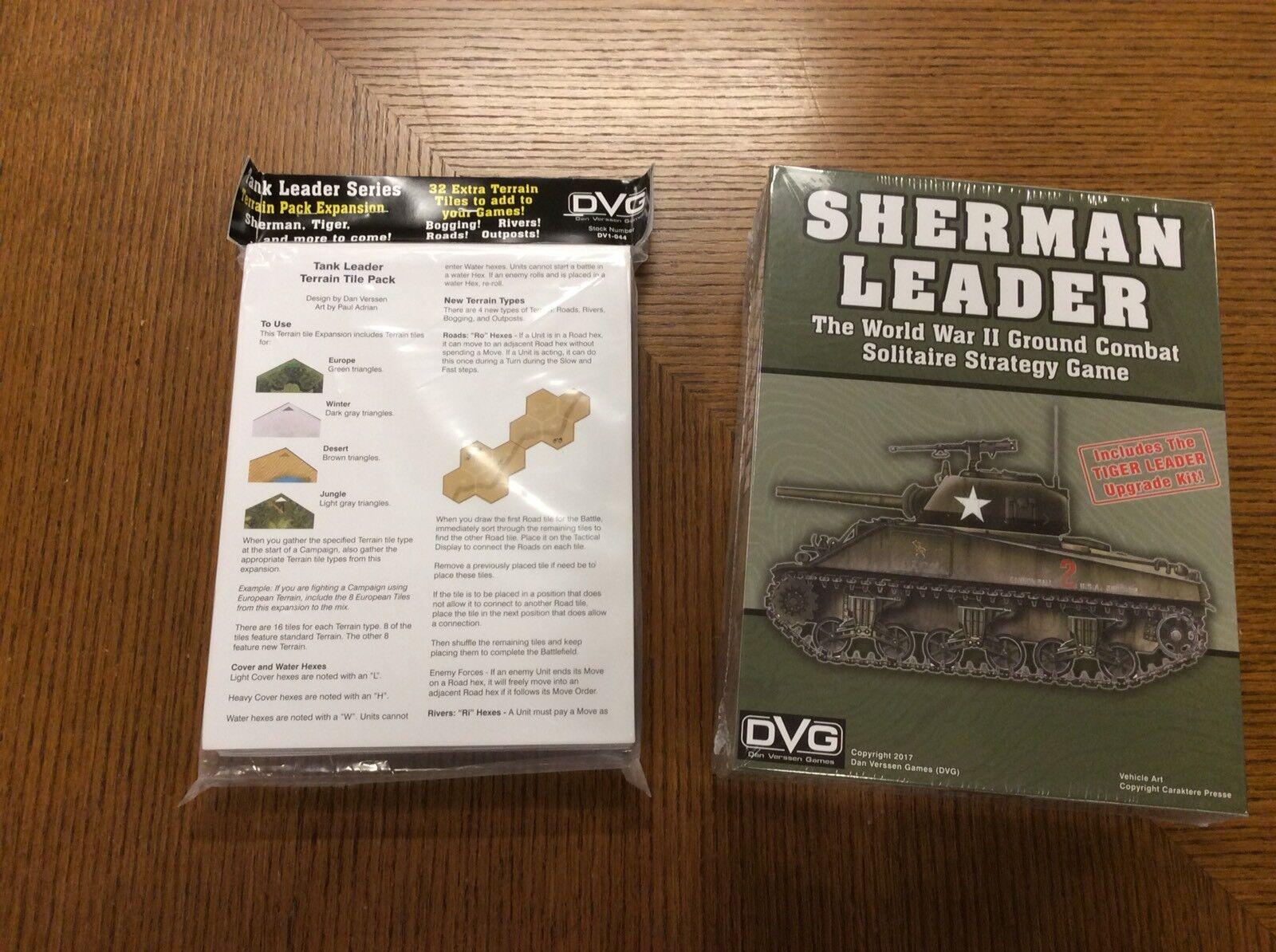 Dan Verssen Wargame Sherman Sherman Sherman Leader (includes Tiger Leader Upgrade Kit) Box SW cebe8d