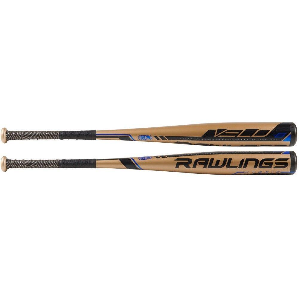 2019 Rawlings Velo -8 USSSA 2 5 8″ Alloy Baseball Bat UT9V8 30 22