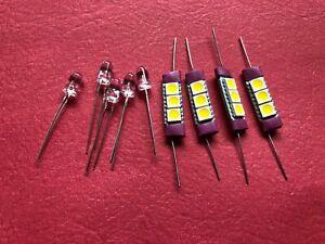 Toshiba SA-7100 receiver front panel LED lamps bulbs lights LED