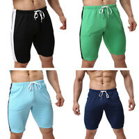 Fashion Mens Cotton Shorts Pants Gym Trousers Sport Jogging Trousers Casual Pant