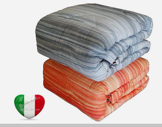 Trapunta Caldo Piumone Invernale Tessuto 100% cotone Made In    Giardino db29e3