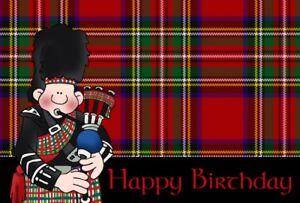 Scottish-Piper-Birthday-Card