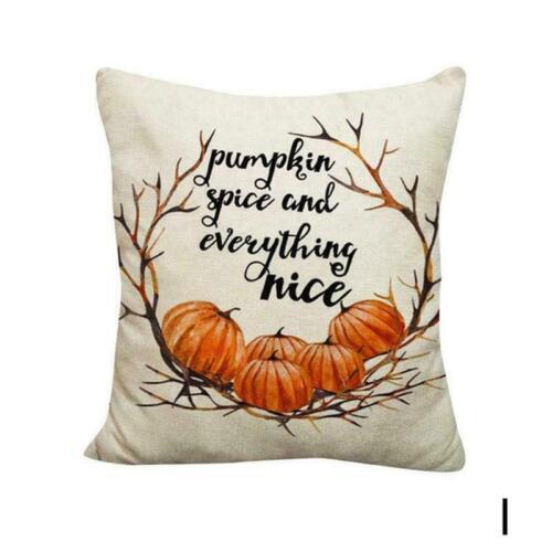 Cover Deckel der Kissen werfen Kissenbezüge mit Kürbis Kissenbezüge Halloween