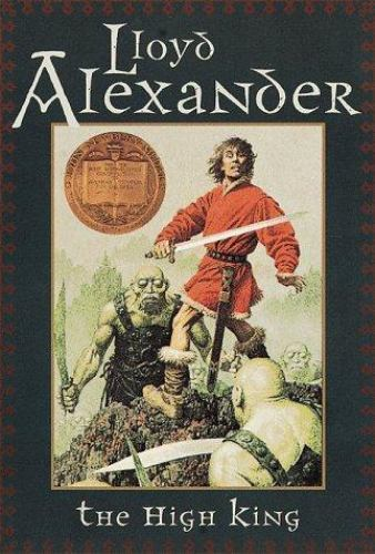 The High King (Prydain Chronicles)-ExLibrary