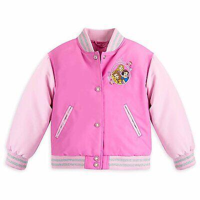 Disney The Little Mermaid ARIEL Varsity Jacket 9 10 Large New Girls Princess
