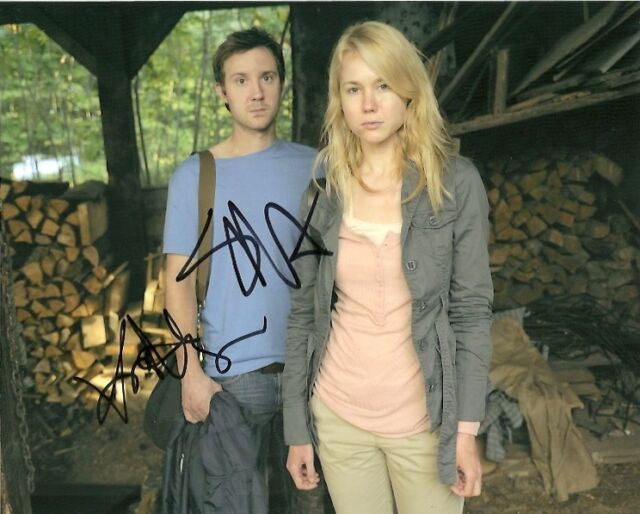Being Human Kristen Hager Sam Huntington Autographed Signed 8x10 Photo COA