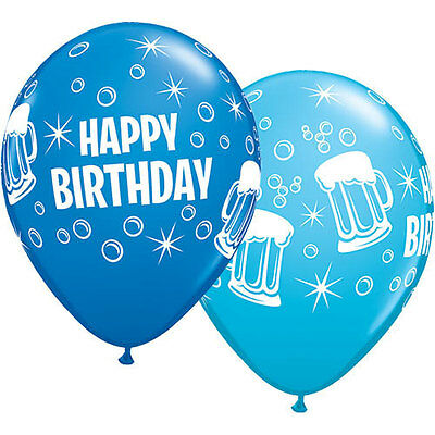 blue birthday balloons beer party balloons adult balloons,birthday party