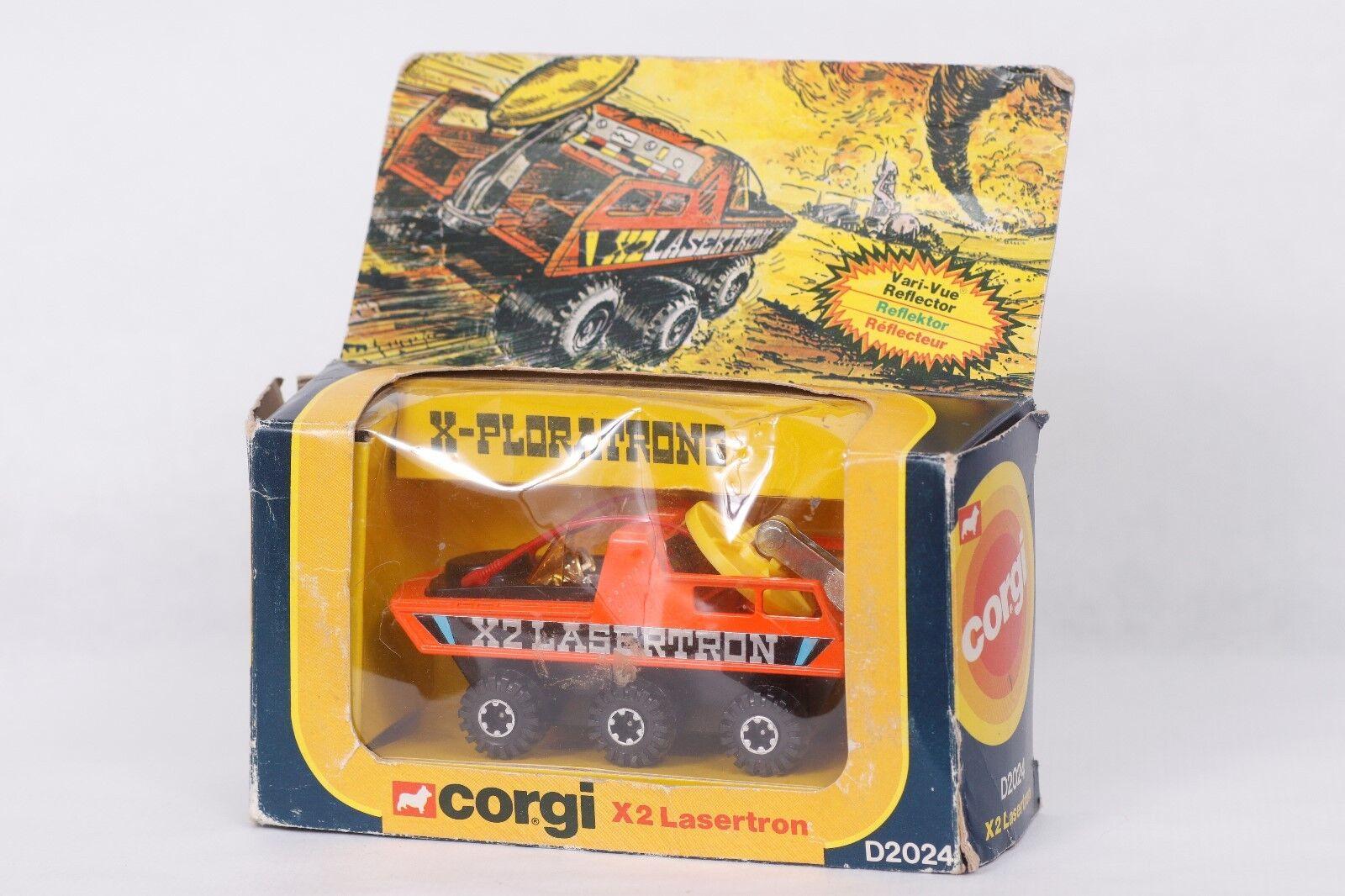 Todos los productos obtienen hasta un 34% de descuento. Corgi Corgi Corgi Juguetes  x2 Lasertron  embalaje original  Mint  nos  ahorrar en el despacho