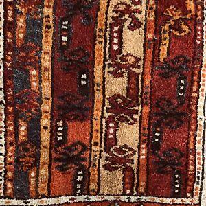 1.9 x 3.4 Vintage Mini Decorative Turkish Rug