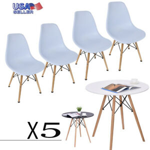 Retro-Dining-Table-and-Chairs-4-Set-Wooden-Legs-Room-Kitchen-Lounge-Chair-Pub