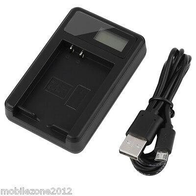 2 M Cargador de Datos USB y Cable de Alimentación Negro Plomo Para Cobra CDR835 Cámara en Tablero
