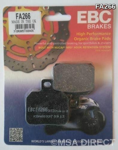 Aprilia SL1000 Falco (2000 to 2004) EBC Organic REAR Brake Pads (FA266) (1 Set)