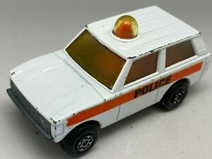 MATCHBOX Lesney Superfast rolamatics N. 20 Police Range Rover