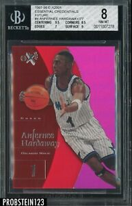 1997-98 Skybox E-X2001 Essential Credential Future Anfernee Hardaway 4/77 BGS 8