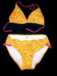 diversifiziert in der Verpackung großer Rabattverkauf aktuelles Styling Details about Children Fashion Bikini Swimwear h&m Bikini Set: Bikini TOP +  BIKINI PANTS YELLOW Size 170 Top- show original title
