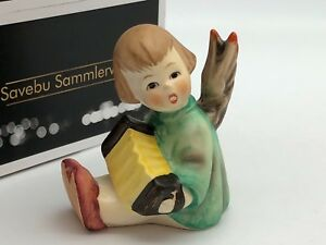 Hummel-Figurine-238-B-Angel-Seated-2-1-2in-1-Choice-Top-Condition