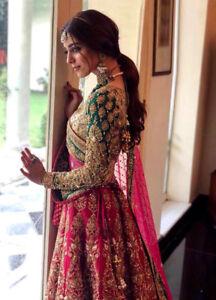 Details About Indian Pakistani Bridal Lehenga Choli Wedding Party Fancy Designer Lengha Dress