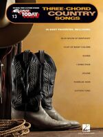 Three-chord Country Songs Sheet Music E-z Play Today Book 000100248