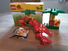 Lego Duplo Dino Dinosaurier T-Rex Flugsaurier Dinoei Triceratops Babydino