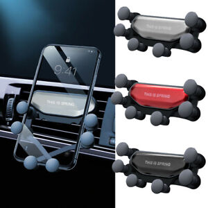 Universal Car Holder Mount Gravity Air Vent Stand Cradle For Mobile Cell Phone
