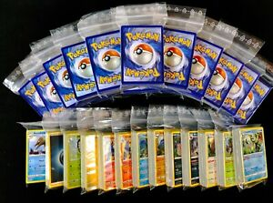 100-Cartes-Pokemon-Incl-Reverse-Holo-etoile-collection-Original-allemand